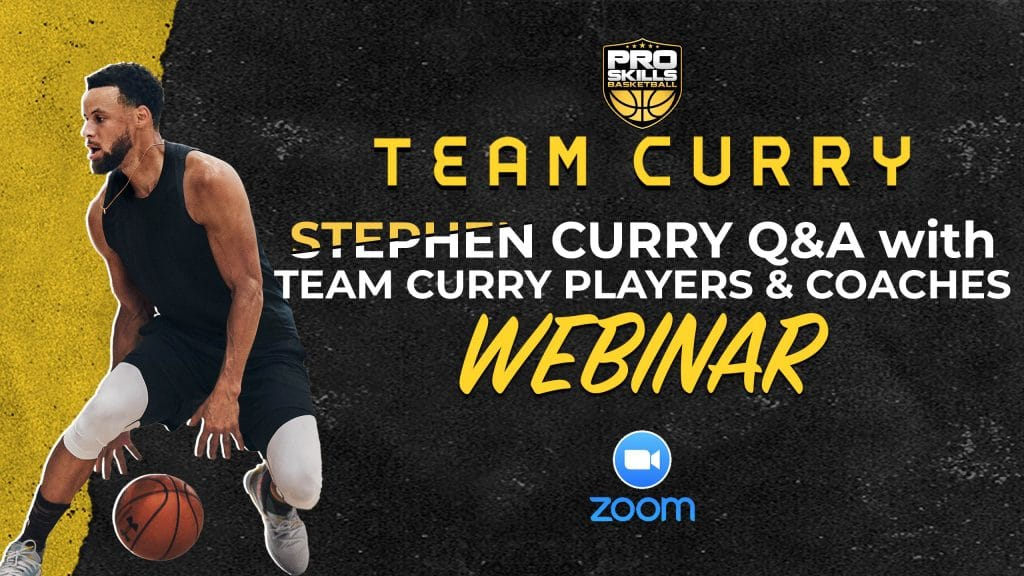 Stephen Curry Q&A with Team Curry AAU Basketball Players & Coaches