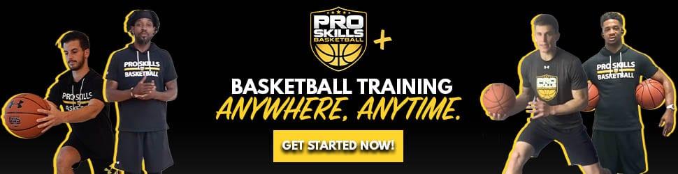 PSB+ online basketball training anywhere anytime