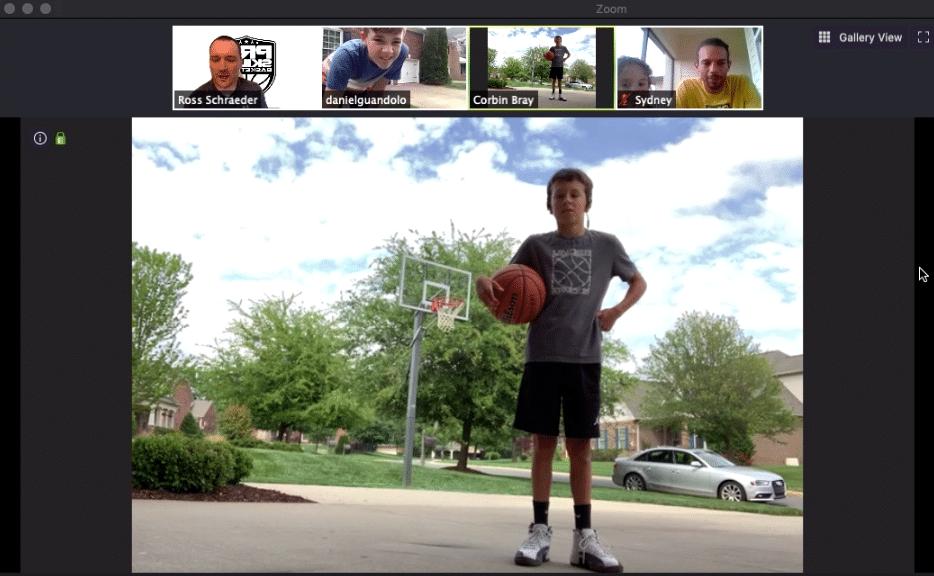 PSB Virtual Summer Basketball Camp